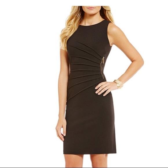 39984af90aa Ivanka Trump Black pleated Dress